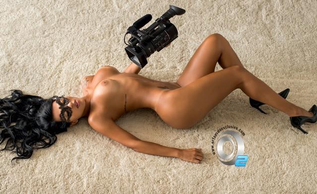 Gaby Fontenelle Nua Revista Playboy