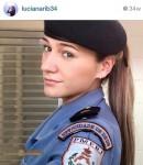 Policial Militar gostosa caiu na net