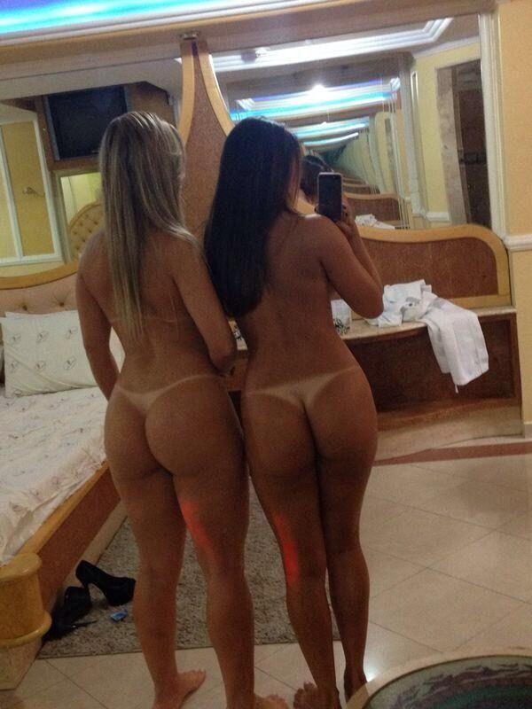 Фото девушек с голыми попами частное